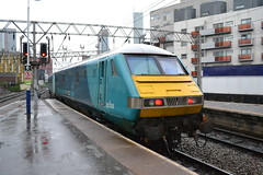 Arriva Trains Wales MK3 DVT 82308 (Will Swain) Tags: station 20th september 2018 greater manchester city centre north west train trains rail railway railways transport travel uk britain vehicle vehicles england english europe oxford road arriva wales mk3 dvt 82308