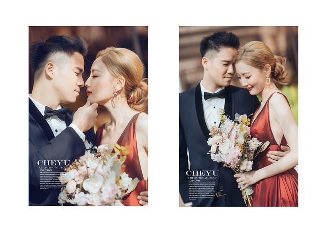 W wedding 高級法式婚紗X 林皇宮聯名激推法式帆船專案