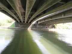 UK - Oxfordshire - Near Godstow - River Thames - Bridge (JulesFoto) Tags: uk england oxfordshire centrallondonoutdoorgroup clog godstow riverthames thamespath bridge