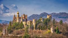 Moorish fairytale castle Rocchetta Mattei (Robert Schüller) Tags: rocchetta mattei bologna italy cesaremattei sissi russiantsar rocchettamattei