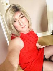 So , I bought this new dress ..............I really should choose another colour , but I can't help it 💕💕 (emma_jay_park) Tags: stockings reddress emmajay emmajaypark boy2girl boytogirl mtf blonde crossdressing crossdresser crossdress xdressing xdresser xdress transvestite trannies tranny trannie transformation transsexual trans tv cd