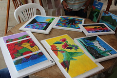 Exposición Artística cursos vacacionales (GadChoneEC) Tags: exposición artística cursos vacacionales