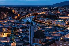 Salzburg #2 | 2019 (immerheiser) Tags: salzburg österreich festunghohensalzburg blauestunde abendstunde stadt city citylights stadtpanorama lights lichter lichtstimmung immerheiser