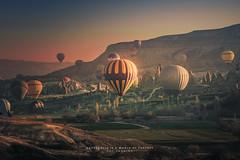 Cappadocia Balloons (nat_panviroj) Tags: