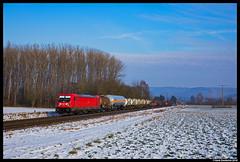 DB Cargo 187 100, Retzbach 07-02-2018 (Henk Zwoferink) Tags: zellingen bayern germany de henk zwoferink retzbach 07022018 db cargo traxx bombardier br187