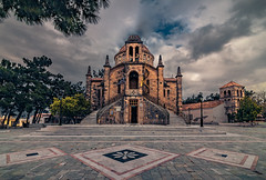 The orthodox church of the village (Vagelis Pikoulas) Tags: church architecture vilia village greece urban landscape tokina april 1628mm canon 6d view clouds cloudy day 2019 spring europe