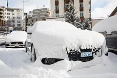 Snow Beast (Nico K. Photography) Tags: audi rs6 avant c7 2015 white snow combo maserati supercars nicokphotography switzerland stmoritz