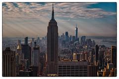 NYC (Ste_72) Tags: ottobre2016 eos760d nyc newyork manhattan topoftherock rockefellercenter skyline cityscape empirestatebuilding