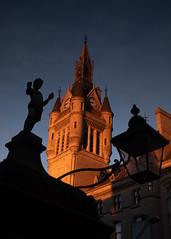 Aberdeen Town House (PeskyMesky) Tags: aberdeen townhouse city light contrast scotland sunrise sunset canon canon5d eos