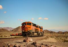 First Of Many (darkprince66 (Tug Chasing Super Hero :D)) Tags: eastsiberia california usrailroads bnsf burlingtonnorthernandsantaferailway gelocomotives railroad train locomotive
