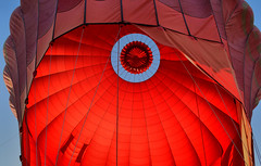 Bagan hab 6 (Neal J.Wilson) Tags: asia asian burma burmese myanmar bagan hot air balloon ballooning flying red