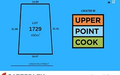 Lot 1729, 37 Creston Street, Point Cook VIC