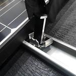 住宅用太陽光パネル設置用架台の写真
