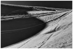 Snow Geometry (galvanol) Tags: sellrain tyrol monochrome alps austria winter bw olivergalvan galvanol blackandwhite skiing snow