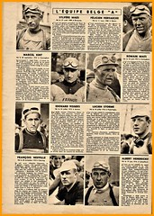 1939 TDF The Belgian 'A' Team (Sallanches 1964) Tags: tourdefrance 1939 belgianteam sylvèremaes romainmaes félicienvervaecke marcelkint worldchampionroadcycling lagrandeboucle miroirdessports