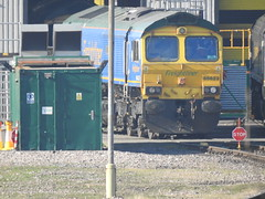 66623 (S.G.J) Tags: freightliner midlandroad leeds class66 66623