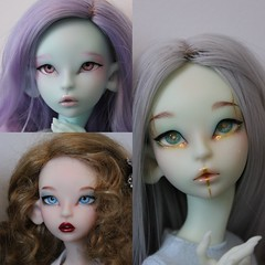2 days before the end of Lichen's preorder :) (Le Tama) Tags: bjd ball jointed doll lichen depthsdolls depths dolls tama urethane wigs poupée preorder prévente resin handmade