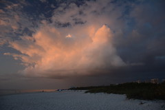 Clam Pass Beach, Naples FL (Evan Lowenstein) Tags: beach clampass naplesflorida naplesfl cloud florida swflorida gulfofmexico sunset