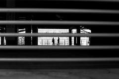 On the bar (pascalcolin1) Tags: paris13 homme man barres bars lumière light ombre shadow photoderue streetview urbanarte noiretblanc blackandwhite photopascalcolin 50mm canon50mm canon