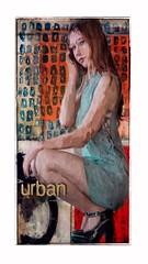 Urban Girl (jimlaskowicz) Tags: jimlaskowicz artistic painterly dreamer impressionistic art city girl urban