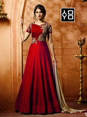 Awesome Red #EmbroideredSalwarSuit Online On #YOYOFashion. (yoyo_fashion) Tags: style fashion dresses suits shopping offers womenwear eidspecialdress redanarkalisalwarsuit designerdress look lookbook womenwearsuit indianwedding womenfashion outfitinspo ethnic indianfashion offer indianwear ethnicwear bridalwear