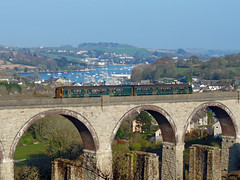 150246 Collegewood Viaduct, Penryn (Marky7890) Tags: gwr 150246 class150 sprinter 2t84 collegewoodviaduct railway penryn cornwall maritimeline train