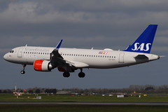 SE-DOY A320neo Scandinavian Airlines (eigjb) Tags: dublin airport eidw international collinstown ireland jet transport airliner plane spotting aviation aircraft airplane aeroplane sas airbus a320 neo scandinavian airlines sedoy a320251n