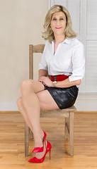 IMG_5492_f (AlexandraCollins) Tags: crossdresser crossdress crossdressing heels legs pantyhose stockings secretary