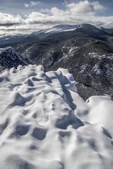 Perfect Lumpy Snow (noname_clark) Tags: rockymountainnationalpark outdoor hike snow lillymountain blanket white