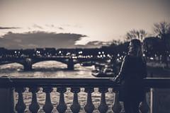 Seine (N.sino) Tags: パリ ビューティー アレクサンドル3世橋 セーヌ川 leica m9 summicron90mm paris seine woman beauty bridge