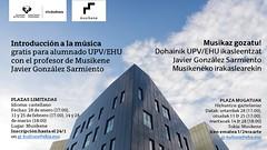 Musikaz Gozatu 2019 (EHUkultura) Tags: ehu musikene donostia musika musica unibertsitatea universidad ehukultura upvehu