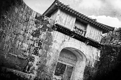 Nakagusu Castle (Peter Schneiter) Tags: traveljapan castle nakagusu okinawa walls fortress gateway door gate entrance