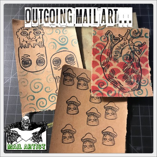 Outgoing Mail Art!