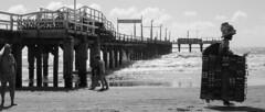 . (Pablo Juárez Brizzi) Tags: buenos aires argentina costa santa teresita coast muelle playa beach street urban dog seller