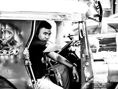 Vacant (Thanathip Moolvong) Tags: makati philippines ph vacant jeepnie rider manila ayala