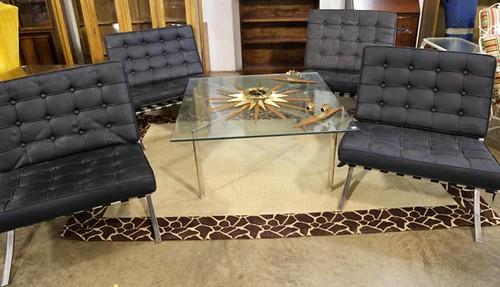 4 Mid Century Modern Chairs ($700.00)