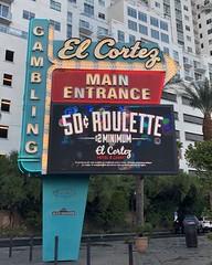 EL CORTEZ HOTEL LAS VEGAS NEVADA (8) (ussiwojima) Tags: elcortezhotel hotel casino gaming gambling lasvegas nevada neon advertising sign