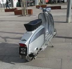 1963 Lambretta LI 150 (occama) Tags: ycv411a lambretta li 150 1963 scooter old cornwall uk cornish silver