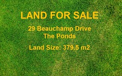 29 Beauchamp Drive, The Ponds NSW