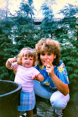 209_DebbieEmma (wrightfamilyarchive) Tags: emma debbie batstone 1989 1980s 80s eighties