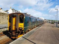 DMU 150202 at Penzance (Ross_G) Tags: class150 150202 dmu penzance station train railway
