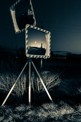 Mirror (pasiak75) Tags: 2019 aftersunset lustro mirror mirrored mirrors night noc odbicie outdoor reflections sun słońce takenfromacar