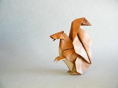 Squirrel - Michael LaFosse (Rui.Roda) Tags: origami papiroflexia papierfalten ardilla écureuil esquilo squirrel michael lafosse