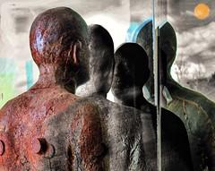 Reflections (rlonpine) Tags: hss decordovamuseum sculpture snapseed prisma photoshop pixelmator hipstamatic rlonpine
