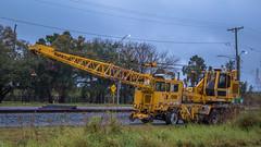 Manitex Little Giant (NoVa Truck & Transport Photos) Tags: manitex little giant hirail dual mode crane csx transportation jacksonville fl railroad