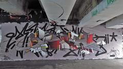 Mesk / Keizerviaduct - 12 apr 2019 (Ferdinand 'Ferre' Feys) Tags: gent ghent gand belgium belgique belgië streetart artdelarue graffitiart graffiti graff urbanart urbanarte arteurbano ferdinandfeys mesk