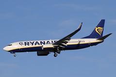 EI-FTG (LIAM J McMANUS - Manchester Airport Photostream) Tags: eiftg ryanair fr ryr boeing b737 b738 738 b73h 73h boeing737 boeing737800 egcc manchester man