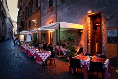 Dining in #Rome
