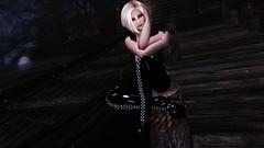Nalonia Graymoon (XMymy007X) Tags: skyrim enb tesv lady sexy latex black heels