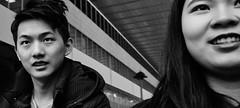 More interesting than me? (Baz 120) Tags: candid candidstreet city contrast street streetphotography streetphoto streetcandid streetportrait strangers rome roma europe women monochrome monotone mono noiretblanc bw blackandwhite urban life portrait people italy italia grittystreetphotography faces decisivemoment